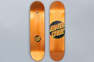 Santa Cruz 7.8 Classic Dot Skateboard Deck Orange
